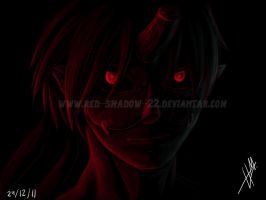 Bloody eyes by Red-Sinistra