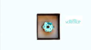 Blue Donut Ring by SulkyB