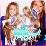 #Miley Cyrus Blend by BrenduGomezEditions