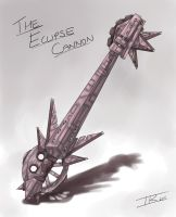 Eclipse Cannon, Dr. Robotnik's Keyblade by Memphiston