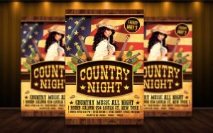 Country Flyer V2 PSD by MatteoGianfreda94
