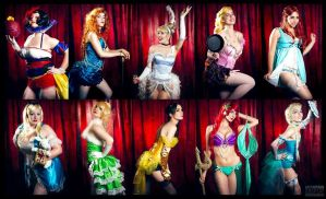 Disney Burlesque by Stephanie-van-Rijn