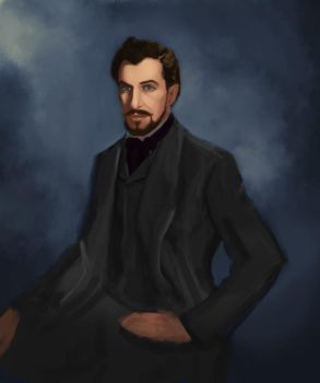 Vincent Price - Song Of Bernadette (WIP) by GreenishQ8