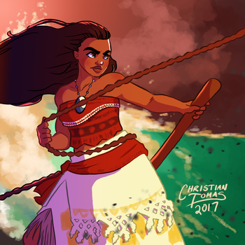 Sailing to Te Fiti by avidcartoonfans