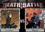Death Battle - Lin Beifong vs Magneto by Rassilon001
