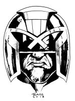 PHILLY 2013 - DREDD HEAD by MattTriano