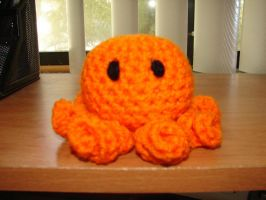 Orange Octo by CreationsbyJolie