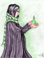 Snape by TheDayIsSaved