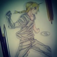 Edward Elric FMA by ShadowWolf-Akira