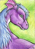 Dragea ACEO by xRashana