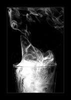 Smoke 5 , black and white by 4420