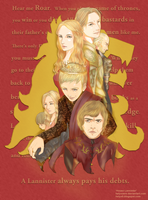 House Lannister by helyxzero