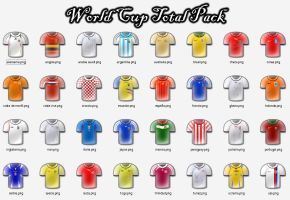 World Cup Total Pack _Mundial_ by wevenezuela