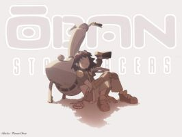 Oban Star Racers: Quiet moment by hana-sugeru