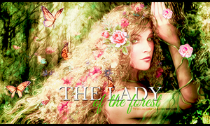 The lady of the forest by TifaxLockhart