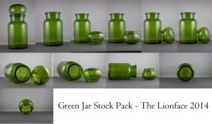 Green Jar Stock Pack by The-Lionface