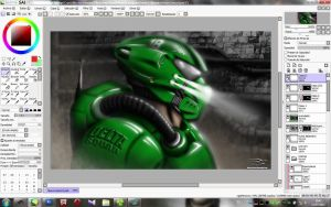 Doom I Remastering - Speed-Paint by Unreal-Forever