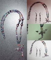 DragonFly Necklace by SickStarr
