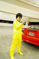 Yellow Suit Guy from Gangnam Style cosplay by waynekaa