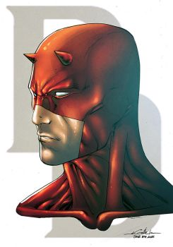 Daredevil   June 2015 By Spiderguile-d8x1v49 by NesTHORcolors