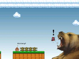 Mario does not always win by Napo