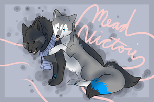 Mead and Vic by VictoriWind