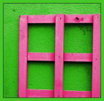 Pink Window by ideoda