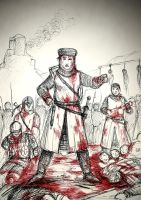 Joan the Butcher - AD 1209 Albigensian Crusade by gambarginaa