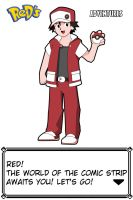 Pokemon Trainer Red by DarkRoxima