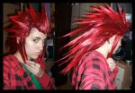 Axel Wig in progress by KellyJane