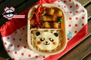 Bento Little Panda by RiYuPai