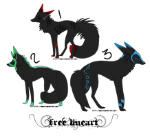 adoptables yeah by DemonOfTheNiteWind