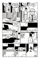 Robot:2047 page two inks by ScottEwen