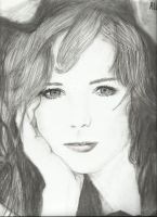 Alexis Bledel (Charcoal) by Sarah-Maxine