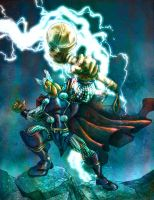 Beta Ray Bill by TedKimArt