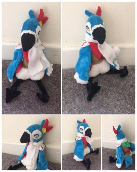 Kass Plush by DynamicFlamez