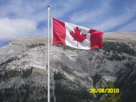 Canadian Flag by 95JEH