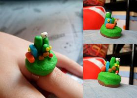 Super Mario Bros. World Ring by Lunatica-Reiko