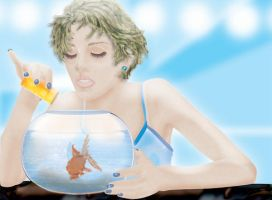 Feed the Fishies by go-kun