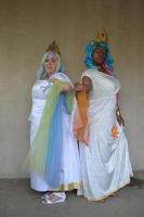Two Bringers of the Sun [ACen'13] by CheckerboardPrincess
