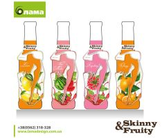 Skinny-Fruitty product design by garryveda