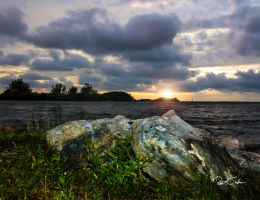 Anclote's Sunset by WatchTower513