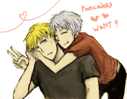 APH - PANCAKES. WANT. by 0712jenny