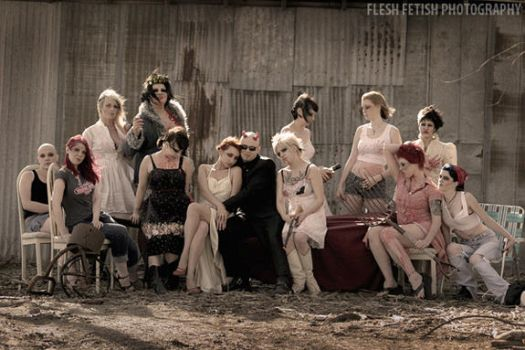 Southern Gothic-Zombie Supper by FleshFetish