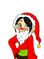 Vanellope Christmas by Mad-Hattress-Ari