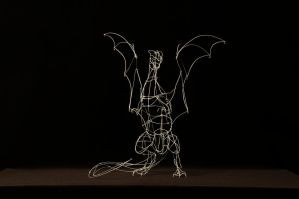 Metal Dragon - Sculpture by The-BenT-One