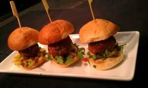 Oriental Turkey Meatball Sliders by PrYmO-ART