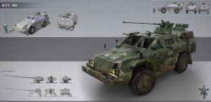 Military Vehicle by Trufanov