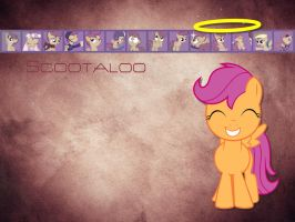 Scootaloo Wallpaper by phasingirl