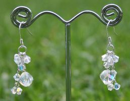 Swarovski Earrings: Aurora by Bria-Silivren
